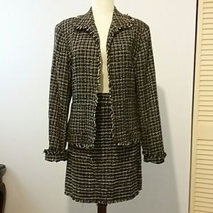 Woman's 2 piece suit...jacket and skirt...size 12